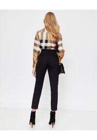 Beżowa koszula Burberry vintage, z długim rękawem