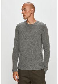 Szary sweter Clean Cut Copenhagen z okrągłym kołnierzem