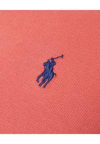 Czerwone polo z krótkim rękawem Ralph Lauren polo, casualowe, na co dzień