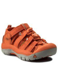 Pomarańczowe sandały keen