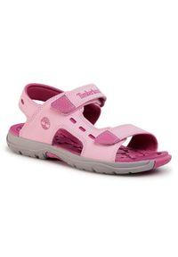 Różowe sandały Timberland