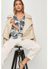 Białe jeansy loose fit Miss Sixty gładkie, klasyczne, z podwyższonym stanem #4