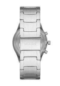 Skagen - Zegarek SKW6609. Kolor: srebrny. Materiał: materiał
