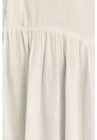 Biała sukienka Answear Lab wakacyjna, mini