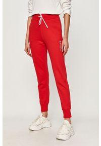 Czerwone spodnie dresowe Champion