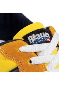 Żółte półbuty Blauer