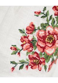 ZIMMERMANN KIDS - Biała sukienka z haftem 0-10 lat. Kolor: biały. Materiał: bawełna. Długość rękawa: na ramiączkach. Wzór: haft. Sezon: lato #6