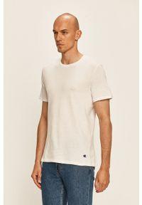 Champion - T-shirt (2-pack). Okazja: na co dzień. Kolor: biały. Materiał: materiał. Styl: casual