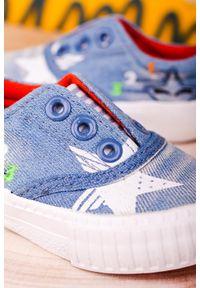 Casu - Niebieskie trampki z gumką casu 20o28/m. Kolor: niebieski