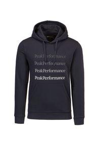 Peak Performance - Bluza PEAK PERFORMANCE GROUND HOOD. Materiał: bawełna. Wzór: napisy, gradientowy