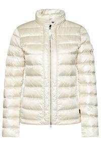 Biała kurtka puchowa Woolrich