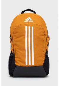 adidas Performance - Plecak. Kolor: pomarańczowy. Materiał: poliester