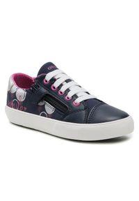 Geox Sneakersy J Gisli G. B J024NB-0AW54 C4268 S Granatowy. Kolor: niebieski