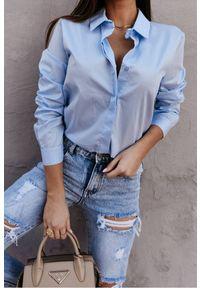 Niebieska bluzka IVET klasyczna