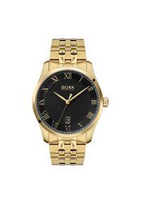 Czarny zegarek HUGO BOSS klasyczny