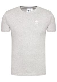 Adidas - adidas T-Shirt Essential Tee GN3414 Szary Standard Fit. Kolor: szary