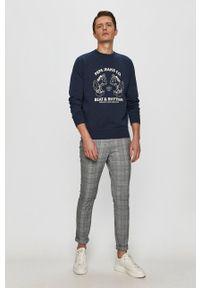 Only & Sons - Spodnie. Okazja: na co dzień. Kolor: szary. Materiał: tkanina. Styl: casual #2