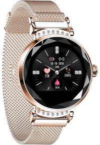 Smartwatch Heures H2 Złoty (4031235676964). Rodzaj zegarka: smartwatch. Kolor: złoty