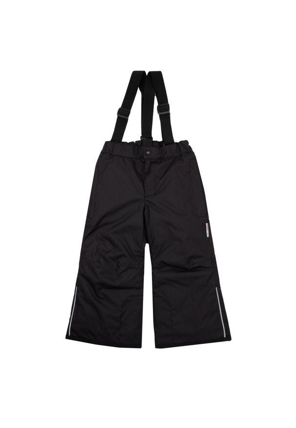 Czarne spodnie narciarskie Reima