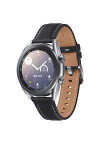 Srebrny zegarek SAMSUNG elegancki, smartwatch