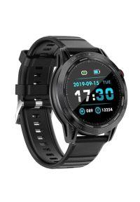 Colmi - Smartwatch COLMI SKY7 Pro Czarny. Rodzaj zegarka: smartwatch. Kolor: czarny. Materiał: materiał. Styl: casual, sportowy