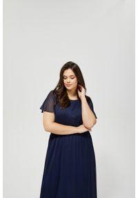 Niebieska sukienka MOODO boho