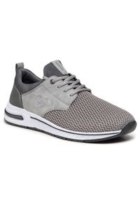 Rieker Sneakersy B4761-42 Szary. Kolor: szary