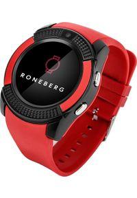 Smartwatch Roneberg R08 Czerwony. Rodzaj zegarka: smartwatch. Kolor: czerwony
