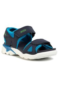 Niebieskie sandały ecco na lato