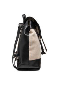 Monnari - Plecak MONNARI - BAG1140-020 Black. Kolor: czarny. Materiał: materiał, skóra. Styl: klasyczny
