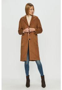 Brązowy płaszcz Haily's klasyczny, bez kaptura
