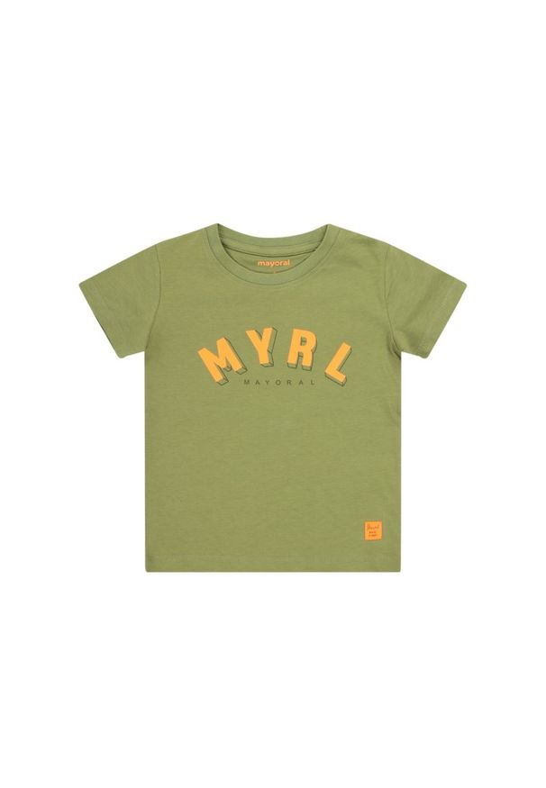 Zielony t-shirt Mayoral