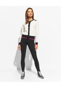Pinko - PINKO - Czarne spodnie elastyczne Rueda. Kolor: czarny. Materiał: tkanina