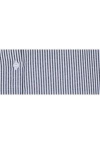 Niebieska koszula TROLL elegancka, z długim rękawem, długa #7