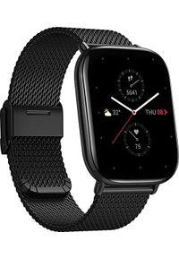 AMAZFIT - Smartwatch Amazfit Zepp E Square Czarny (A1958METALLICBLACK). Rodzaj zegarka: smartwatch. Kolor: czarny