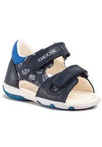 Geox - Sandały GEOX - B S.Elba B. A B02L8A 01054 C4226 Navy/Royal. Kolor: niebieski. Materiał: materiał. Sezon: lato. Styl: klasyczny