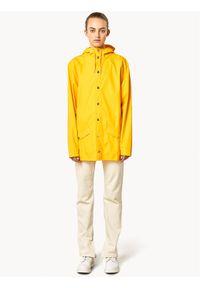 Rains Kurtka przeciwdeszczowa Unisex 1201 Żółty Regular Fit. Kolor: żółty