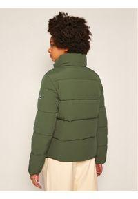 Zielona kurtka puchowa Tommy Jeans