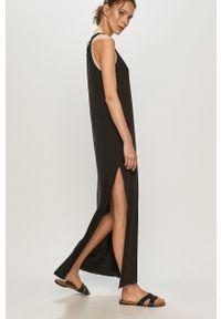 Czarna sukienka Femi Stories dopasowana, casualowa