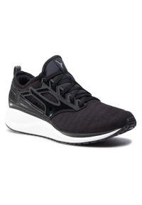 Czarne buty do biegania Mizuno z cholewką