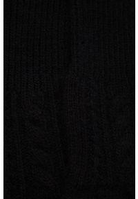 Answear Lab - Rękawiczki z domieszką wełny. Kolor: czarny. Materiał: wełna. Styl: wakacyjny