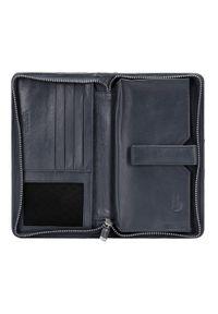 Wittchen - Damski portfel skórzany z kieszenią na telefon. Materiał: skóra #6