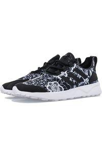 Buty sportowe Adidas z aplikacjami, Adidas ZX, z paskami, z cholewką