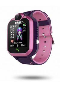Różowy zegarek XBLITZ casualowy, smartwatch