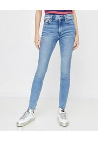 Ralph Lauren - RALPH LAUREN - Jeansy Skinny. Okazja: na co dzień. Kolor: niebieski. Wzór: aplikacja. Styl: klasyczny, casual