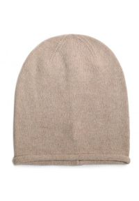 Beżowa czapka zimowa Gino Rossi