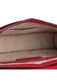 Czerwona torebka Michael Kors elegancka, lakierowana