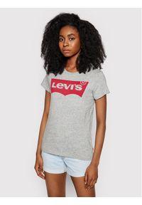 Levi's® T-Shirt Perfect Graphic Tee 7369-0263 Szary Regular Fit. Kolor: szary