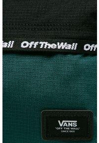 Zielony plecak Vans z aplikacjami