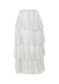Biała długa spódnica Born2be